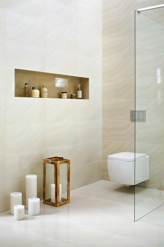 Moderne Badezimmer Hell  Badideen  Badezimmer Beige Badezimmer von Moderne Badezimmer Fliesen Beige Photo