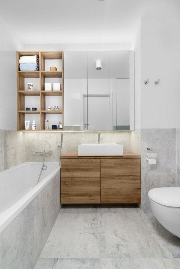 Moderne Badezimmergestaltung  30 Ideen Für Kleine Bäder von Kleine Bäder Die Besten Lösungen Bis 10 Qm Photo
