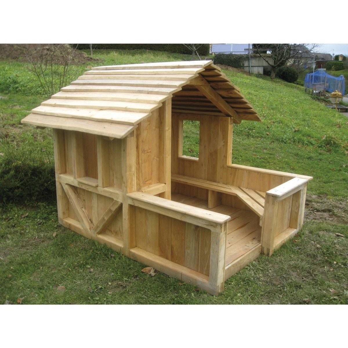 Moderne Garten Idee  Spielhaus Holz Garten Selber Bauenholz von Holz Spielhaus Selber Bauen Photo
