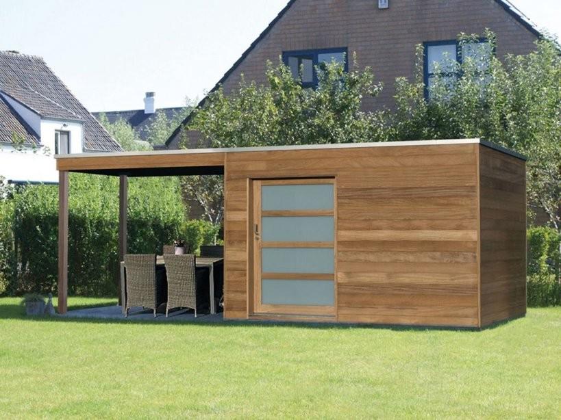 Moderne Gartenhäuser Gelungene Architektur Auf Kleinem Raum  Ob von Moderne Gartenhäuser Aus Holz Photo