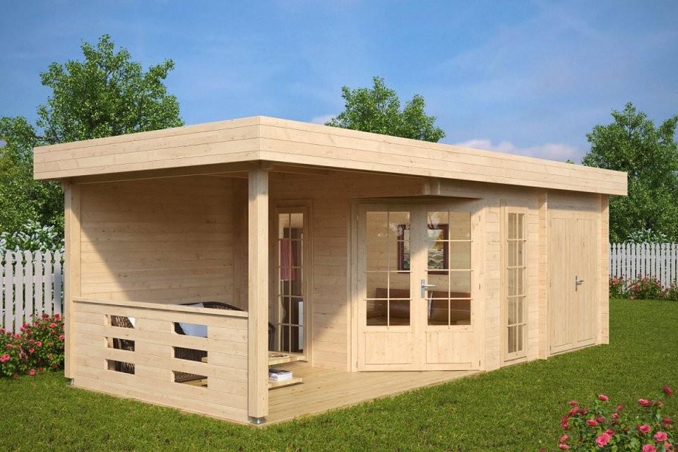 Moderne Gartenhäuser Kaufen  Gartenhaus Aus Holz  Hansagarten24 von Moderne Gartenhäuser Aus Holz Photo