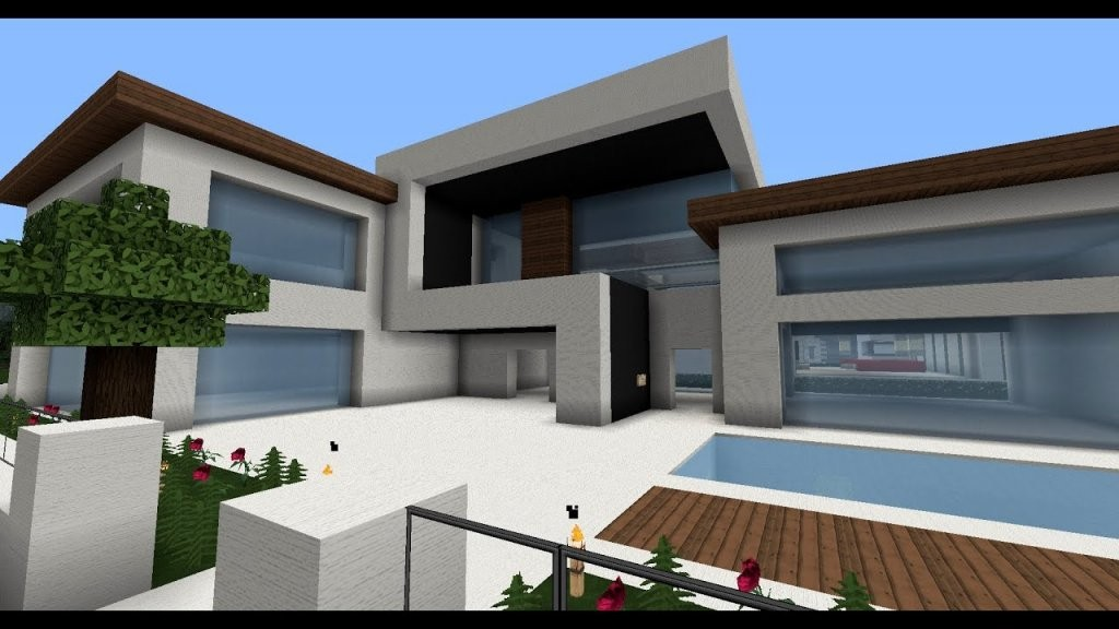 Moderne Minecraft Häuser Wolkenkratzer  Modernes Haus  Best von Moderne Häuser Von Innen Photo