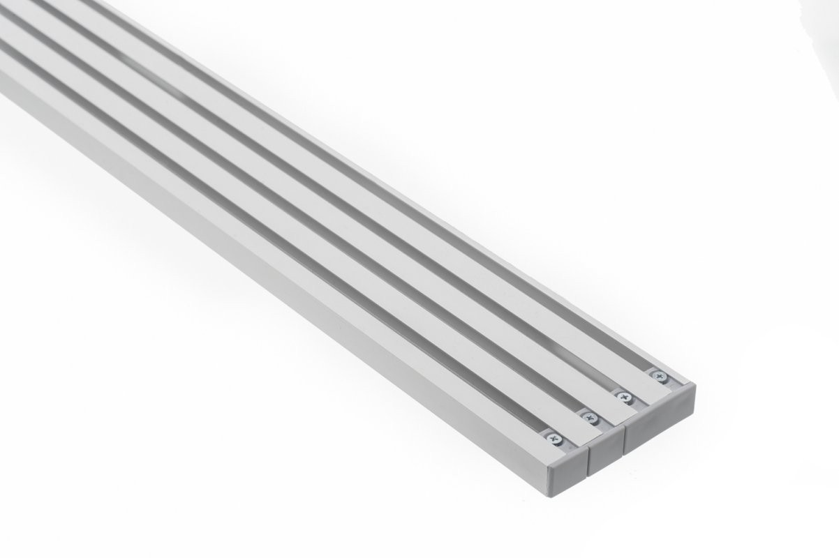 Moderne Vorhangschienen Aluminium Direkt Vom Hersteller  Nexfour von Gardinenschiene 1 Läufig Deckenmontage Bild