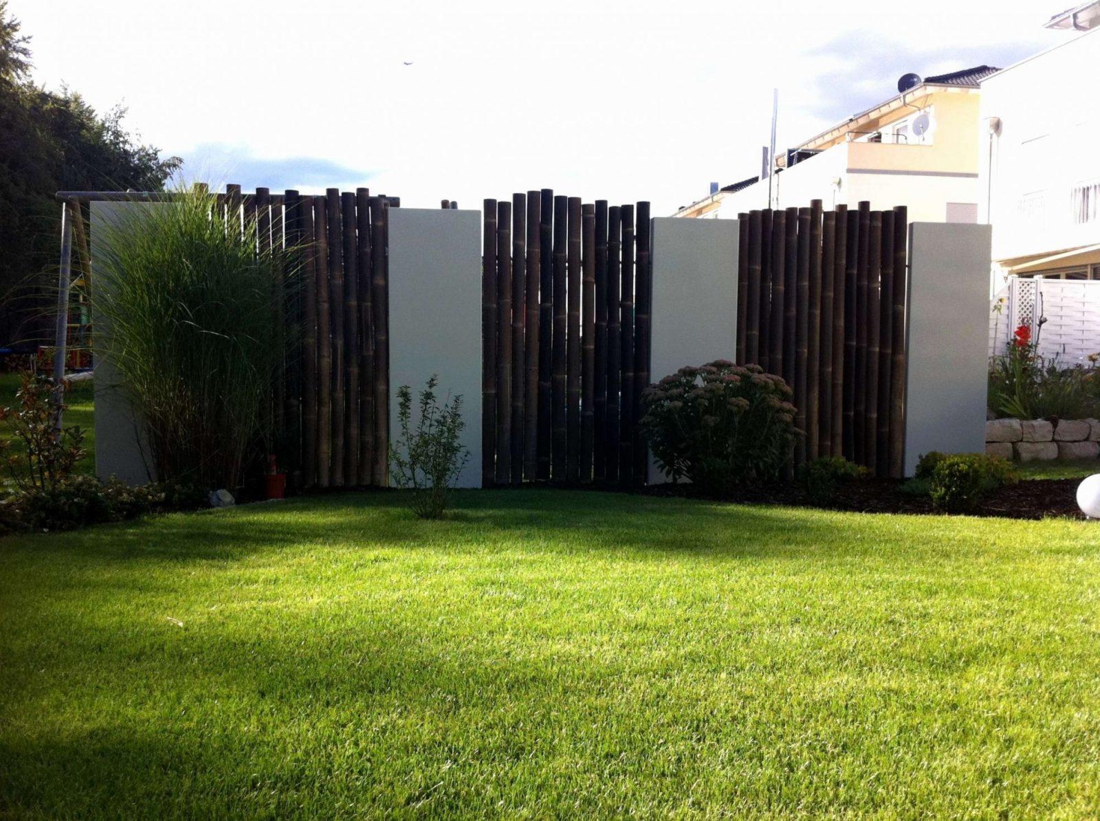 Moderner Garten Sichtschutz Elegant Gartengestaltung Modern von Moderner Sichtschutz Im Garten Photo