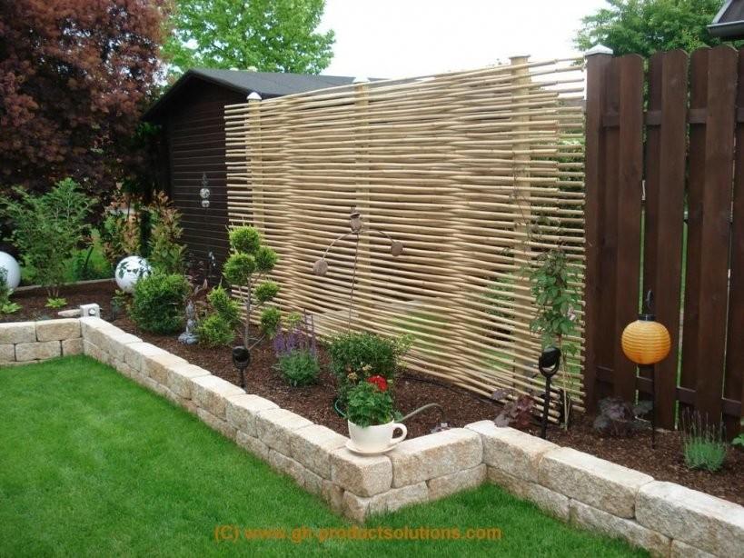 Moderner Sichtschutz Für Den Garten  Gartenideen  Garten Ideen von Moderner Sichtschutz Im Garten Bild