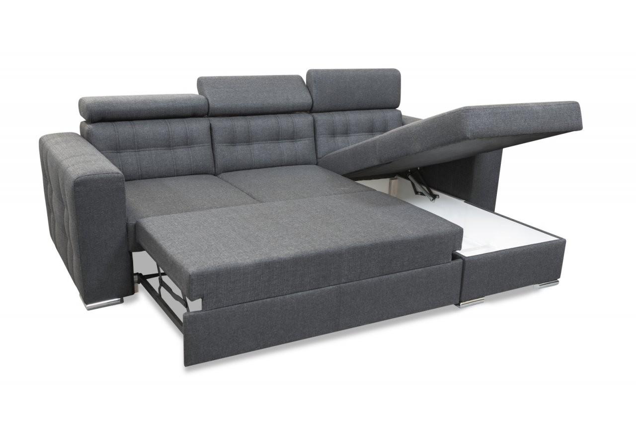 Modernes Ecksofa Maggio Mit Schlaffunktion Bettkasten von Couch Mit Bettkasten Und Schlaffunktion Photo