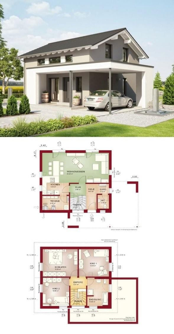 Modernes Einfamilienhaus * Haus Edition 1 V2 Bien Zenker von Bien Zenker Edition 1 Photo