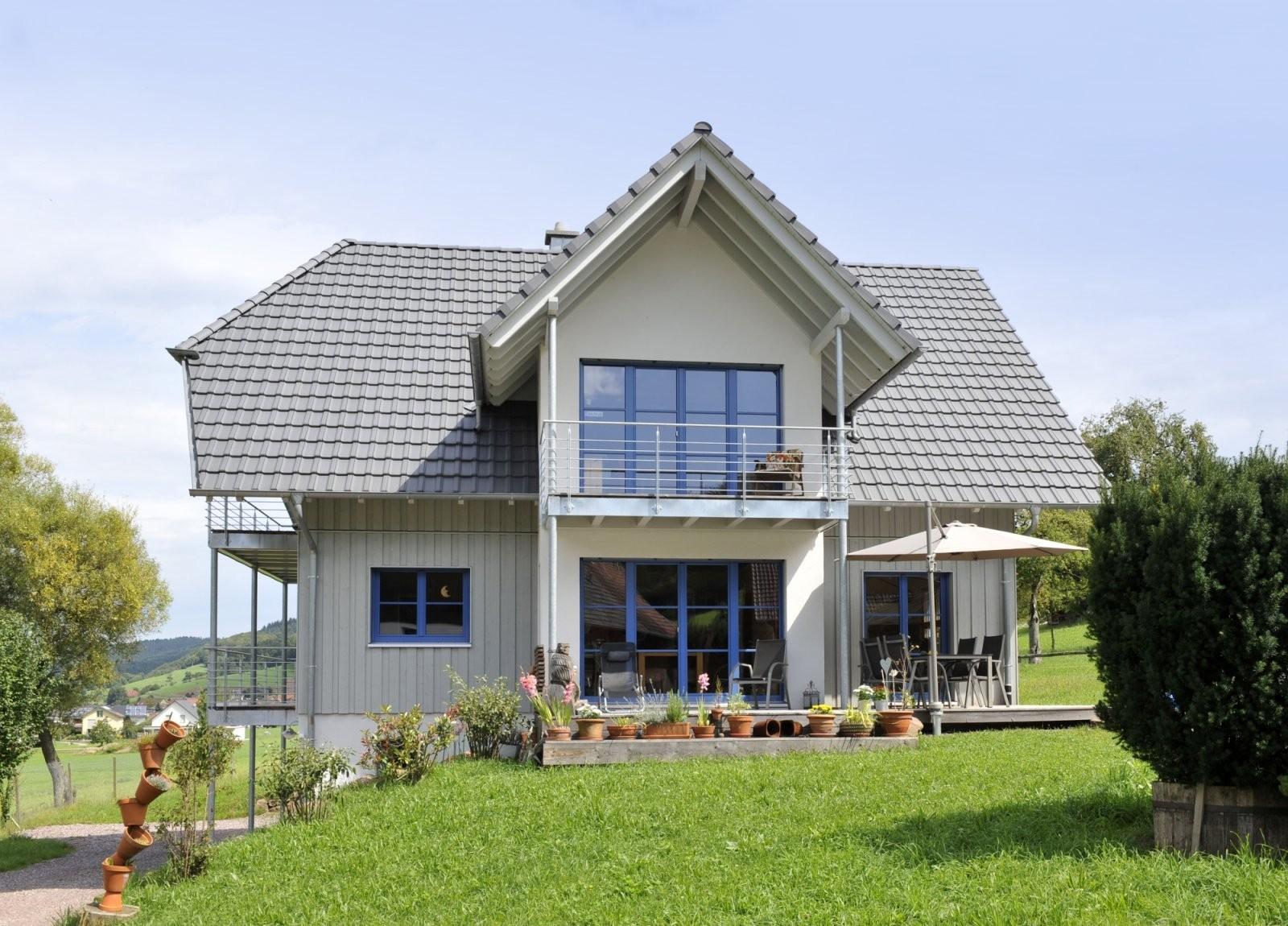 Modernes Einfamilienhaus Natur 156 In Hanglage  Frammelsberger von Einfamilienhaus Am Hang Grundrisse Photo