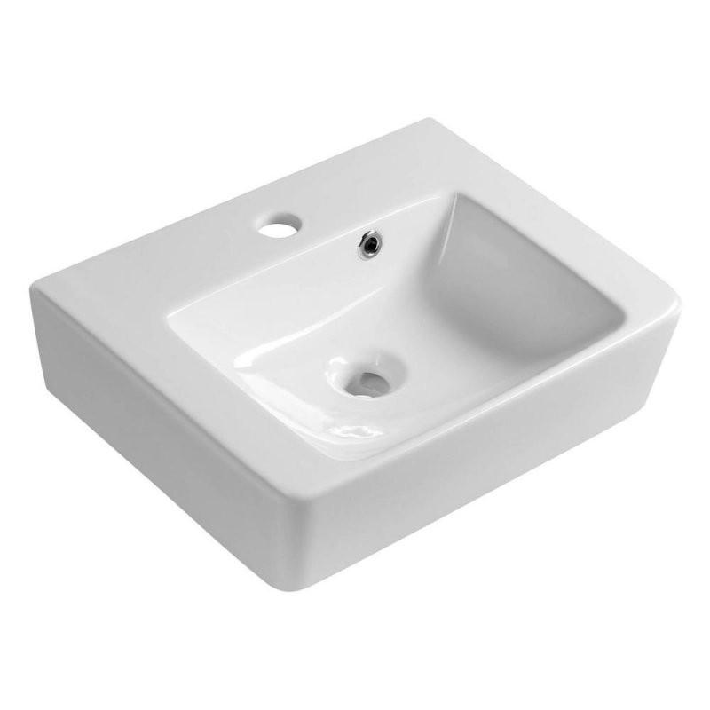 Modis Keramikwaschtisch 45X35Cm Weiß von Waschbecken Tiefe 35 Cm Bild
