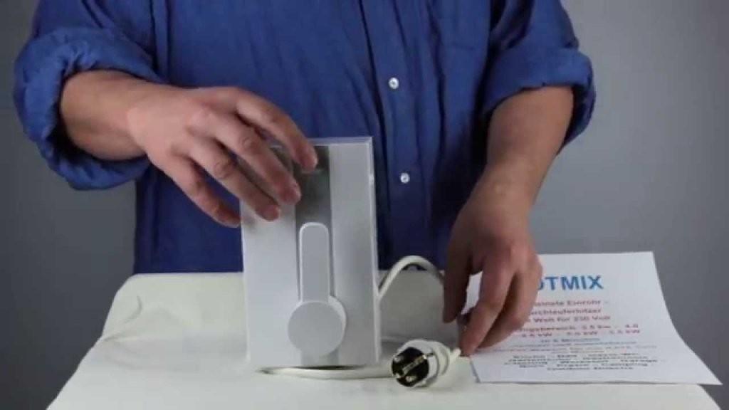 Montage Kleindurchlauferhitzer Hotmix Anschließen Und Installieren von Durchlauferhitzer Niederdruck Oder Hochdruck Photo