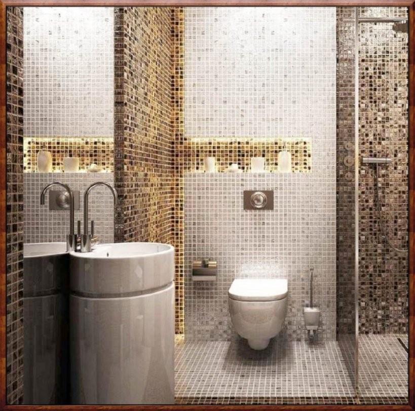 Mosaik Fliesen Bad Ideen  Wohndesign von Mosaik Fliesen Bad Grau Bild