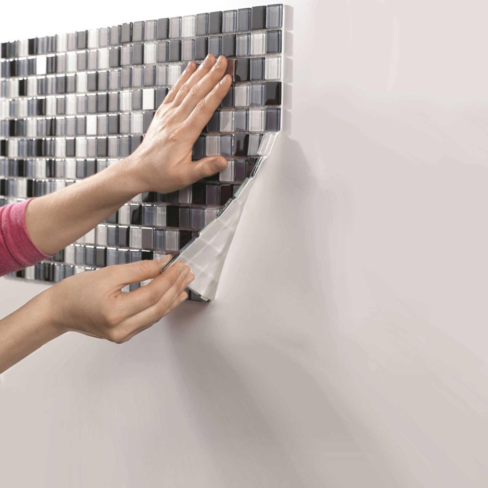 Mosaikfliesen Verlegen – Anleitung In 6 Schritten  Obi von Mosaik Fliesen Dusche Reinigen Bild