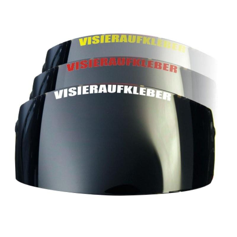 Motorradaufkleber  Bikedekore  Wheelskinzz  Visieraufkleber Mit von Helm Aufkleber Selber Gestalten Bild