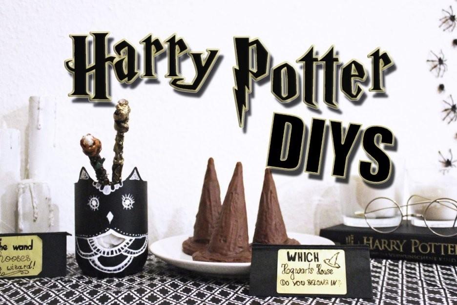 Mottoparty Harry Potter Diys Zum Nachmachen – Diydori von Harry Potter Deko Ideen Bild