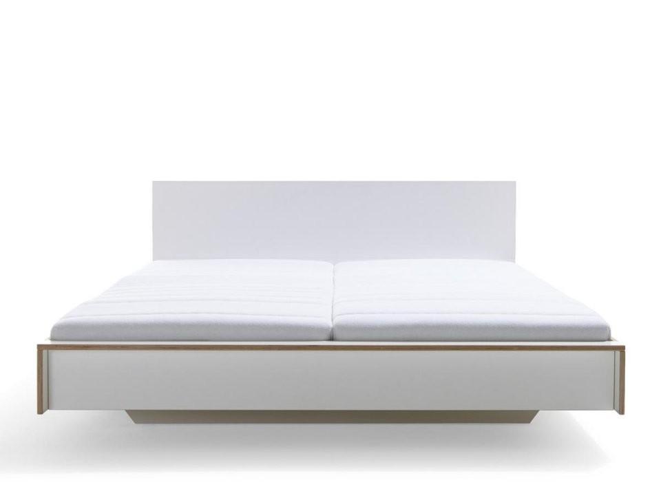 Müller Möbelwerkstätten Flai Bett 180 X 200 Mit Kopfteil Weiß von Bett Weiß Ohne Kopfteil Photo