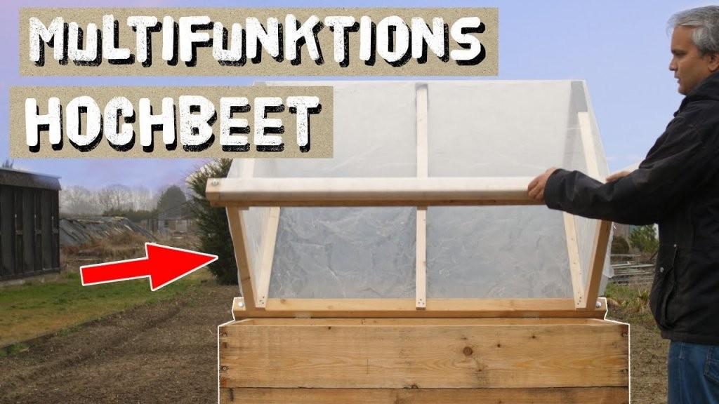 Multifunktions Hochbeet Selber Bauen  1 Hochbeet Aus Holz Bauen von Hochbeet Selber Bauen Youtube Bild