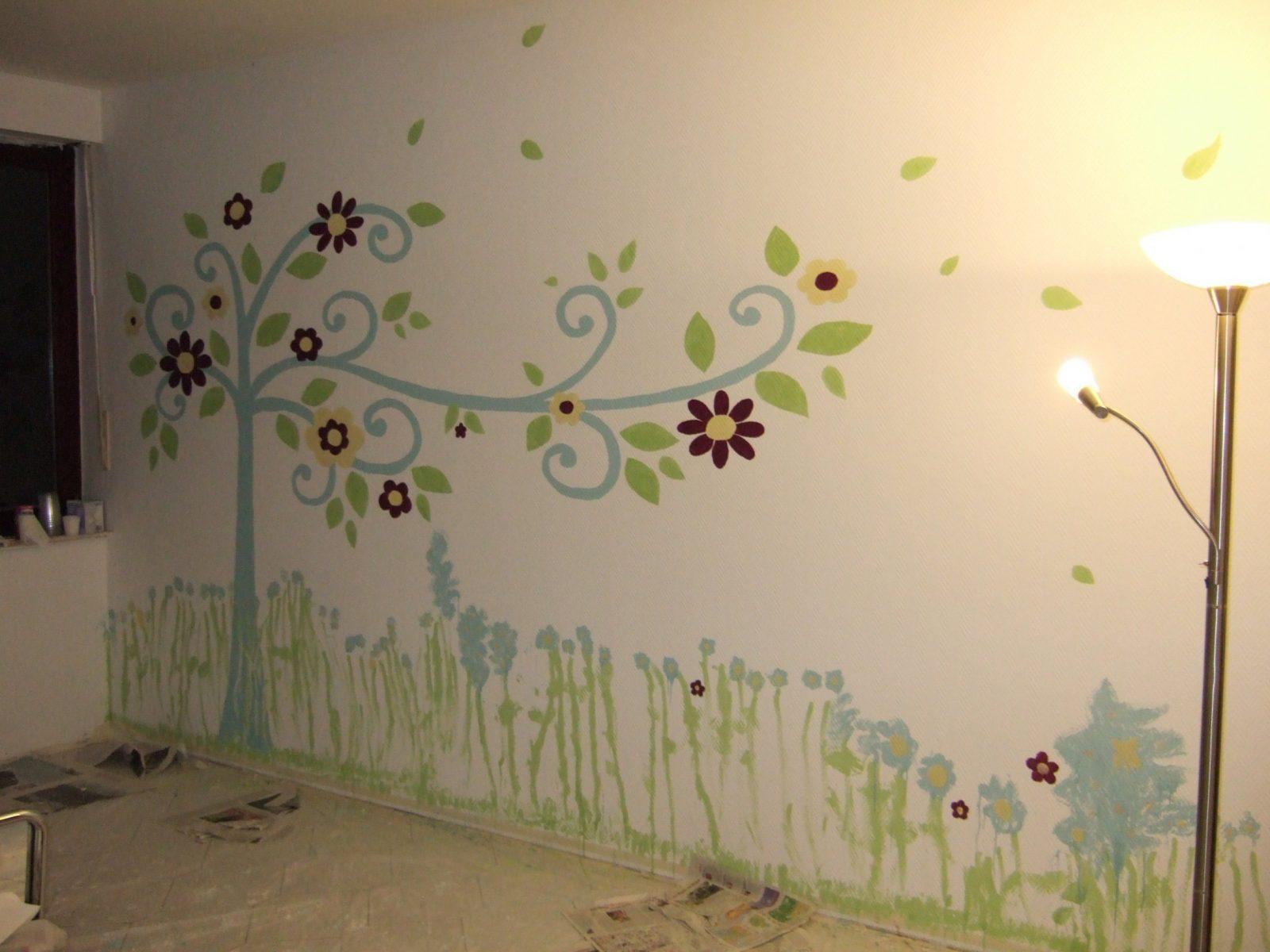 Muster Wand Selber Malen  Kinderzimmer Wandgestaltung Selber Malen von Babyzimmer Wände Gestalten Malen Motiv Vorlagen Photo