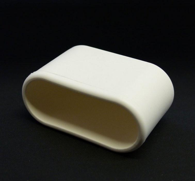 Mwh Fusskappe 50X20Mm Für Chalet Sessel  Gartenmöbel Jendrass von Fusskappen Oval Für Gartenstühle Bild