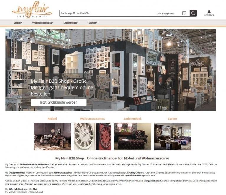 My Flair Gmbh – Handel Für Möbel Und Wohnaccessoires von Shabby Chic Deko Grosshandel Photo