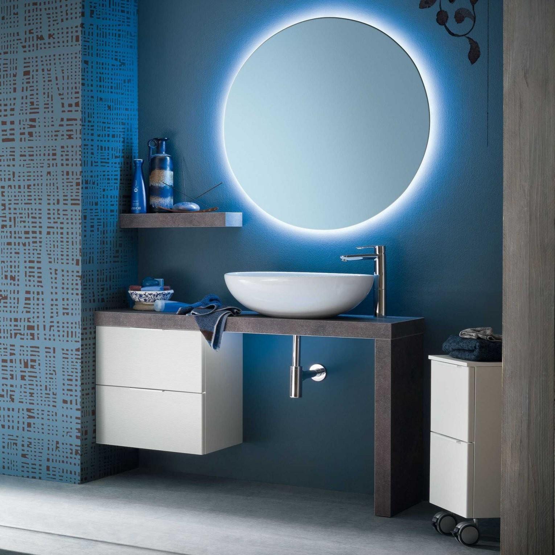 N13  Atlantic Badmöbel Mit Waschtischschale Aus Keramik  Diotti von Waschtisch Schale Mit Unterschrank Bild