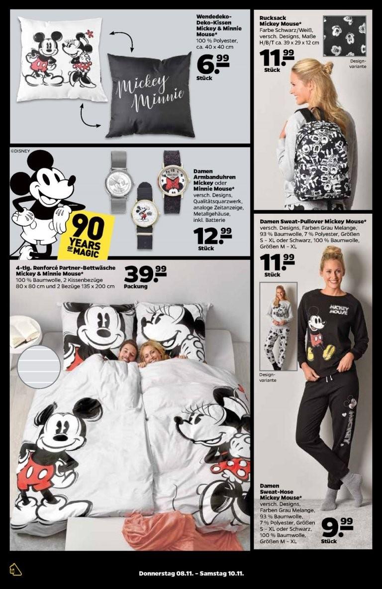 Netto Prospekte   Seite No 2428 Gültig Von 511 Bis 10112018 von Partner Bettwäsche Mickey Mouse Und Minnie Mouse Photo