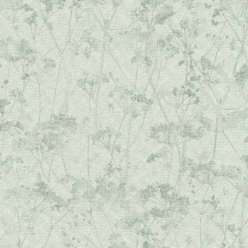 Neu Bei Dhal  Tapeten Mit Schlichten Wildblumen von Schöner Wohnen Tapete Grün Photo