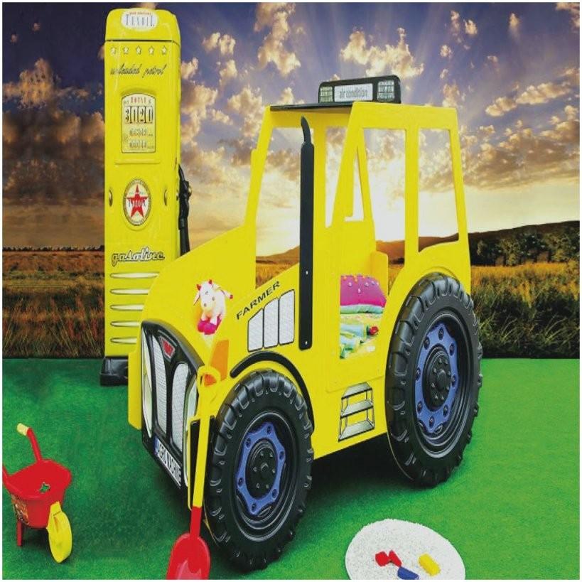 Neu Kinderbett Auto Traktor Sweatyandfit Traktor Bett Selber Bauen von Kinderbett Selber Bauen Auto Bild