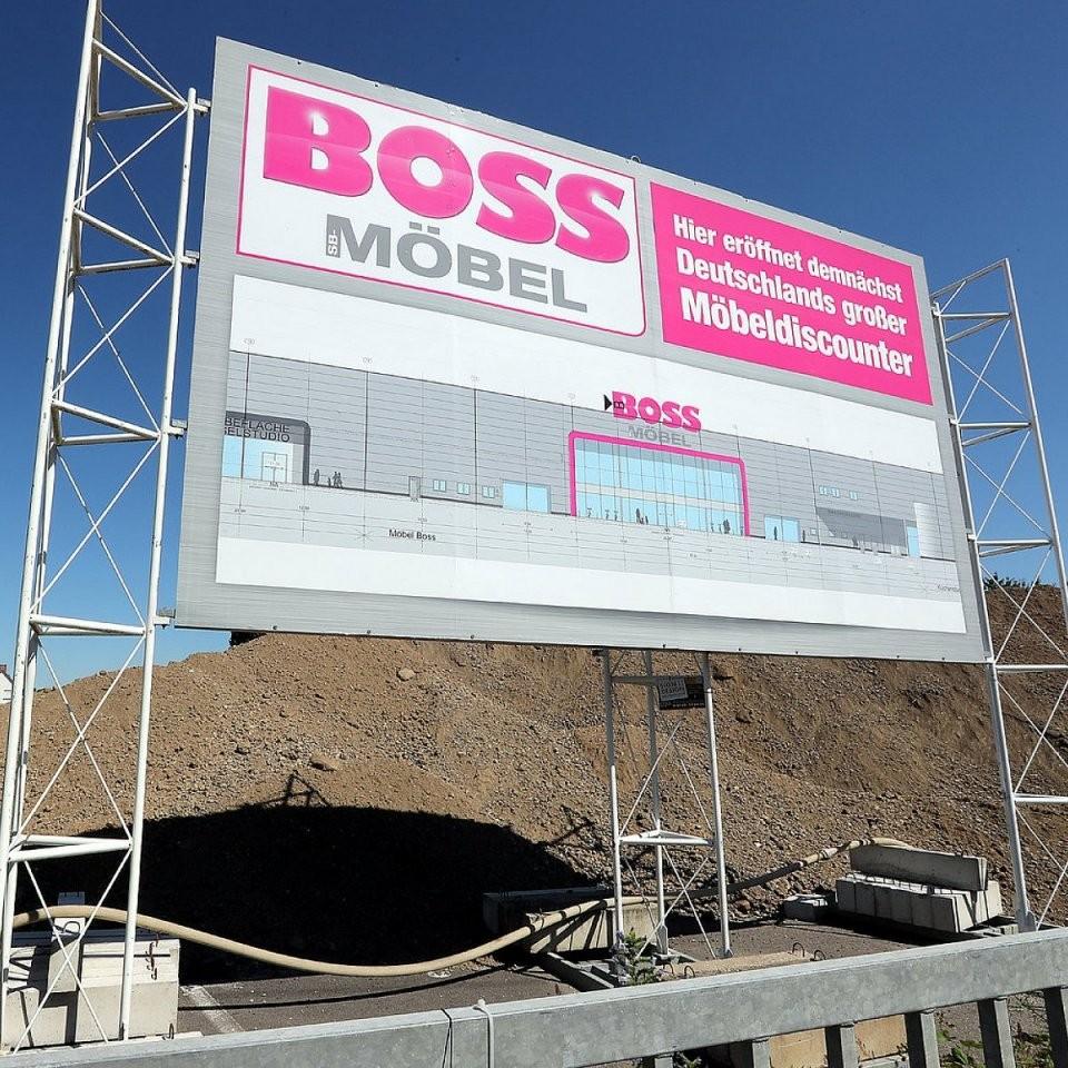 Neuer Bossmöbelmarkt Soll 2019 Eröffnen  Nw von Möbel Boss Essen Öffnungszeiten Photo
