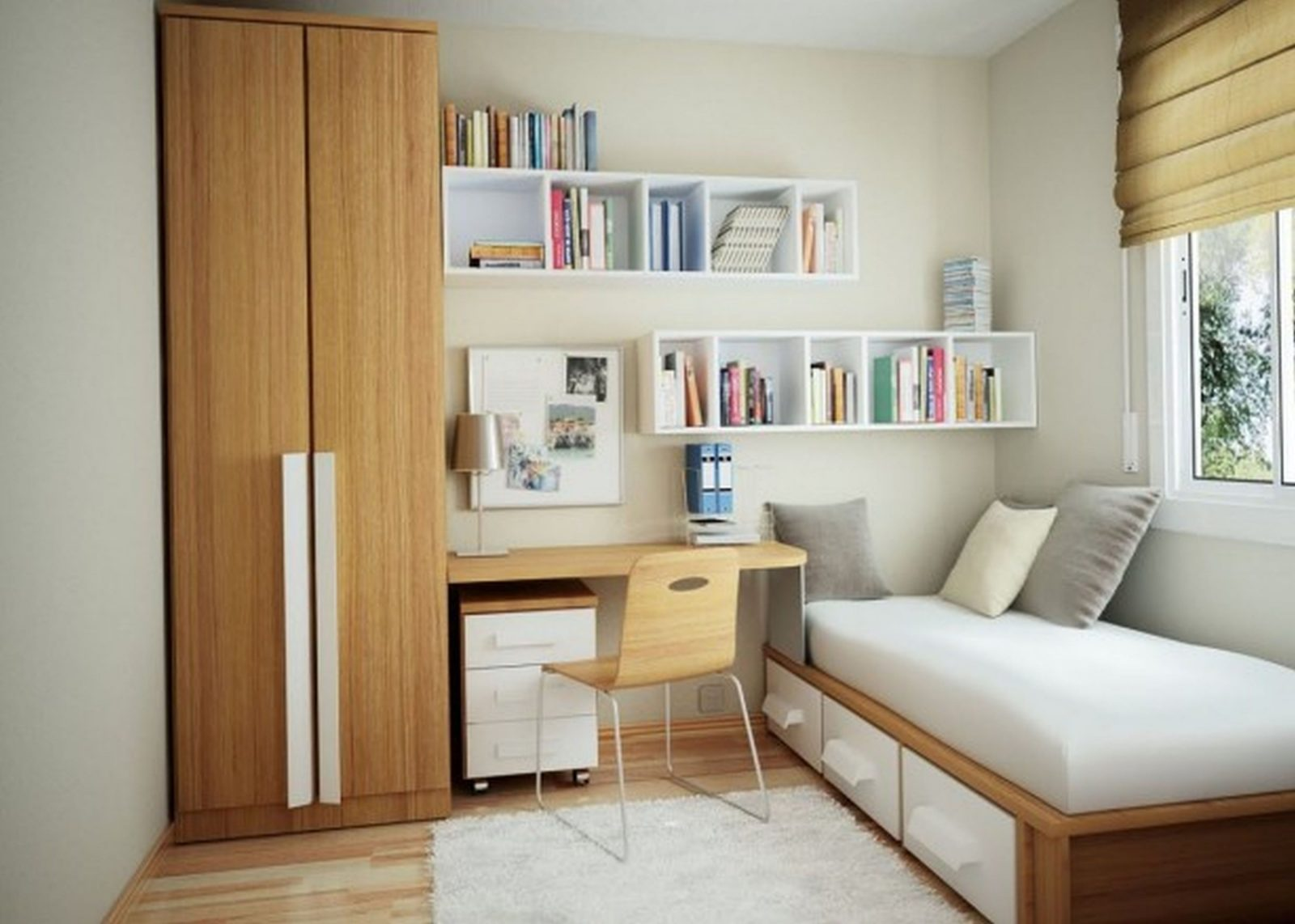 Niedlich Teenager Informieren Mädchen Raum Dekor Ideen Kleine von Schlafzimmer Ideen Kleine Räume Photo