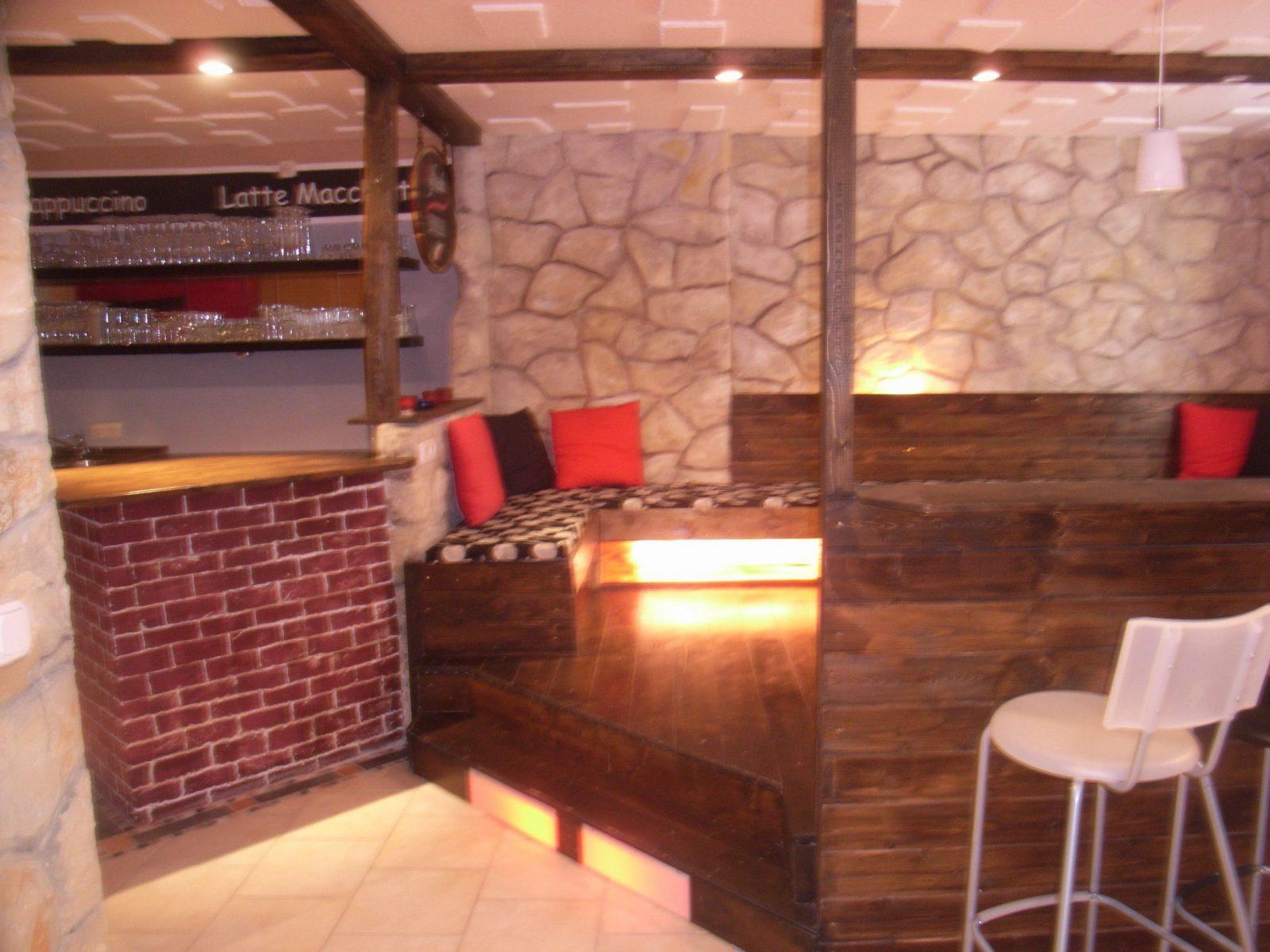 Nochmal Kellerbar  Party Keller Ideen  Keller Partykeller Und von Partykeller Einrichten Selber Bauen Bild