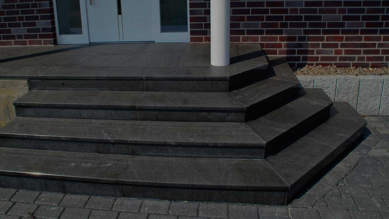 Oberste Aussentreppe Fliesen  Denryokujiyuka von Gewendelte Treppe Fliesen Anleitung Photo