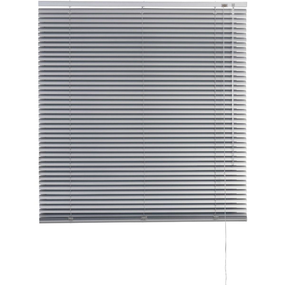 Obi Aluminium Jalousie Burgos 50 Cm X 160 Cm Silber von Jalousie 140 Cm Breit Bild