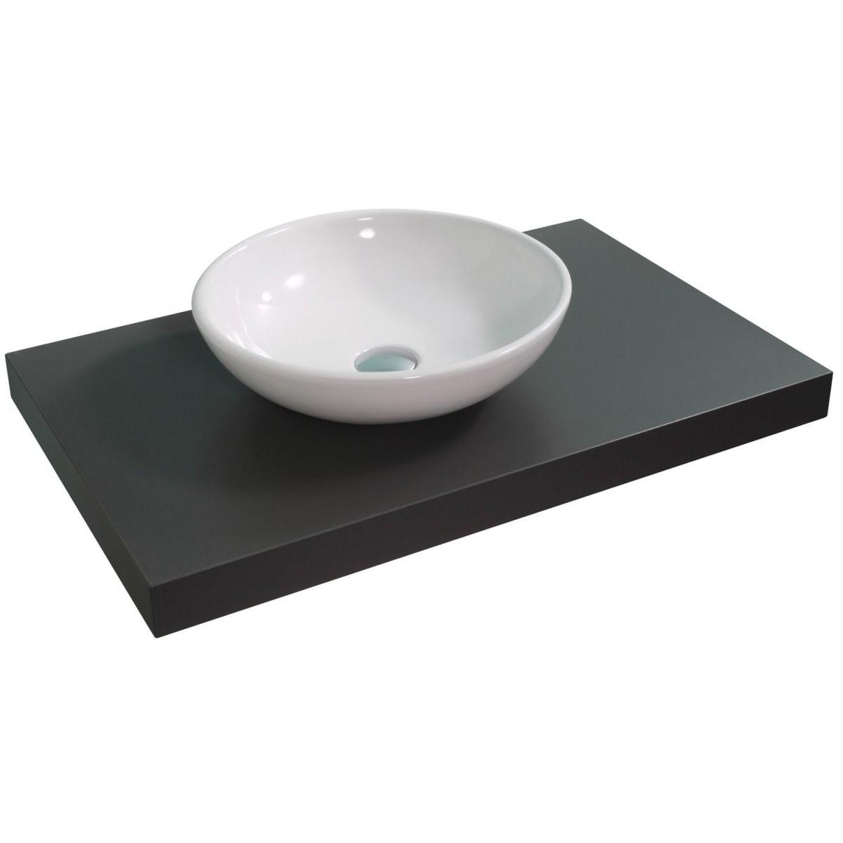Obi Aufsatzwaschbecken Sola 42 Cm Rund Weiß Kaufen Bei Obi von Waschbecken 30 Cm Tief Bild