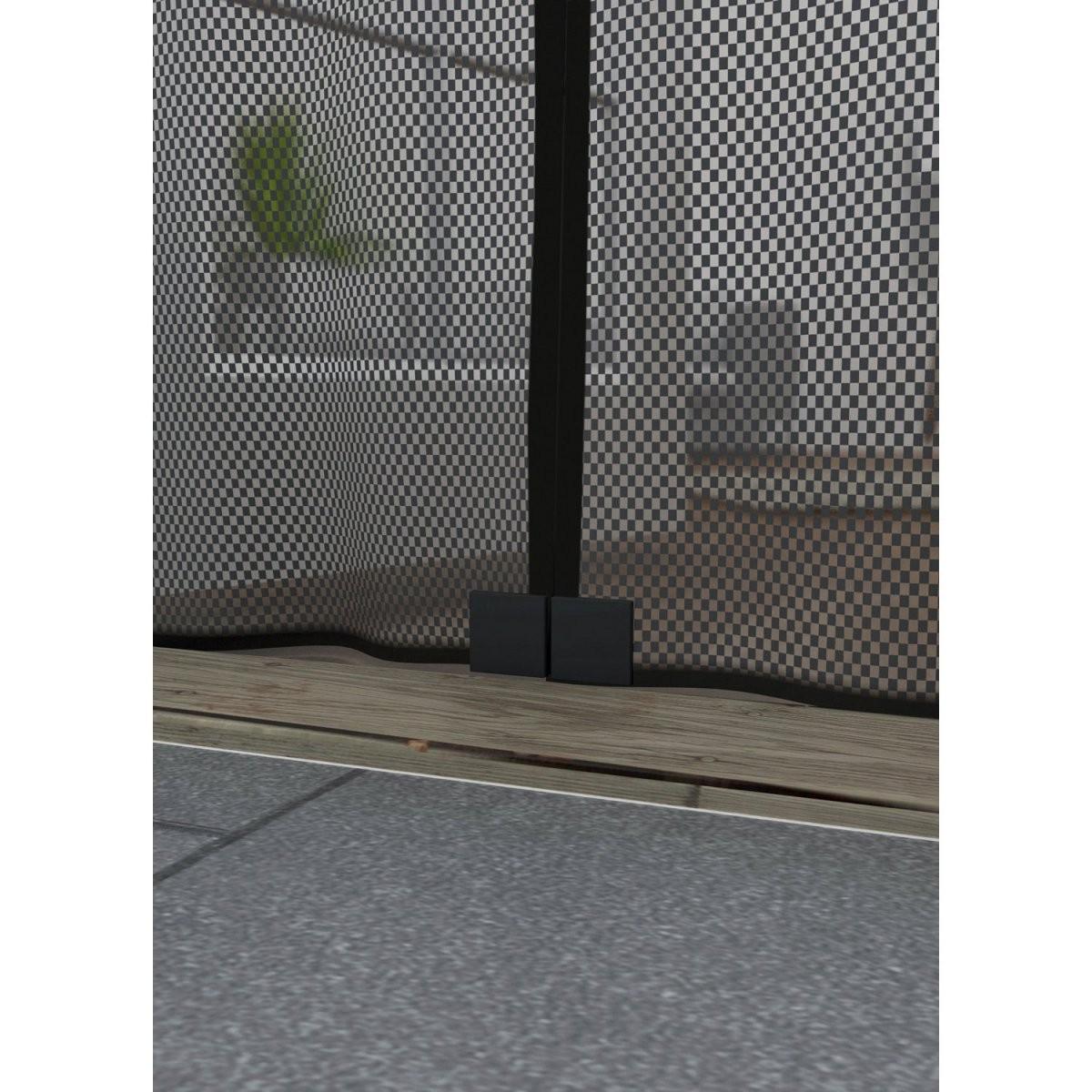 Obi Magnetvorhang 95 Cm X 235 Cm Anthrazit Kaufen Bei Obi von Insektenschutzvorhang Für Türen Mit Magnet Bild
