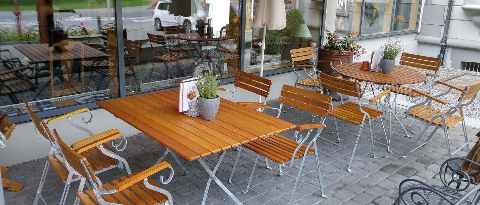 Objektkunden  Möbel Für Gastronomie  Mazuvo Gartenmöbel von Outdoor Möbel Gastronomie Gebraucht Photo