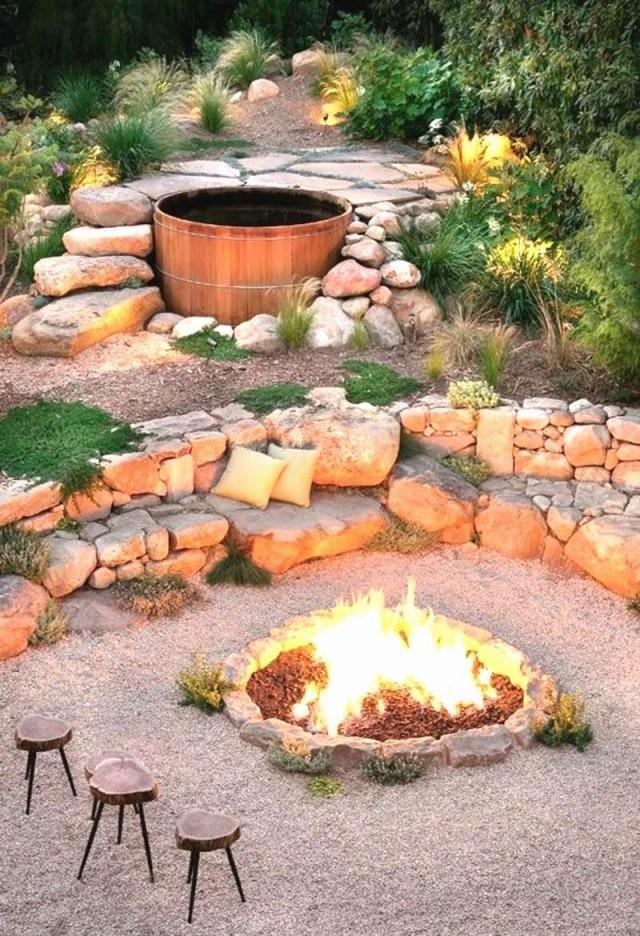 Offene Feuerstelle Im Garten Inspirierend Grillplatz Im Garten Bauen von Offene Feuerstelle Garten Selber Bauen Photo