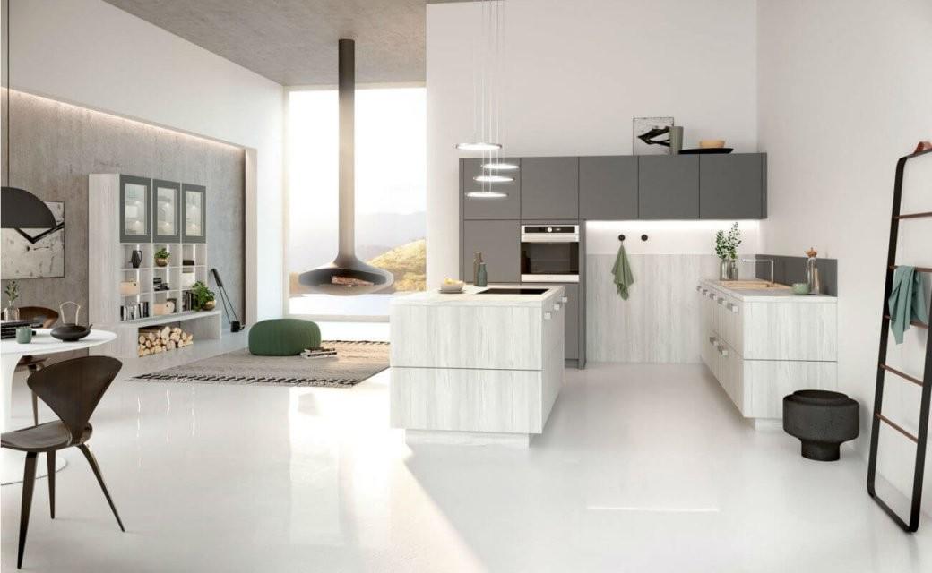Offene Küche Bilder Ideen Und Tipps Für Die Planung Einer von Offene Küche Wohnzimmer Abtrennen Bild