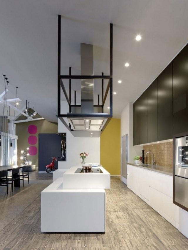 Offene Küche Mit Wohnzimmer  Pro Contra Und 50 Ideen von Moderne Wohnzimmer Mit Offener Küche Photo