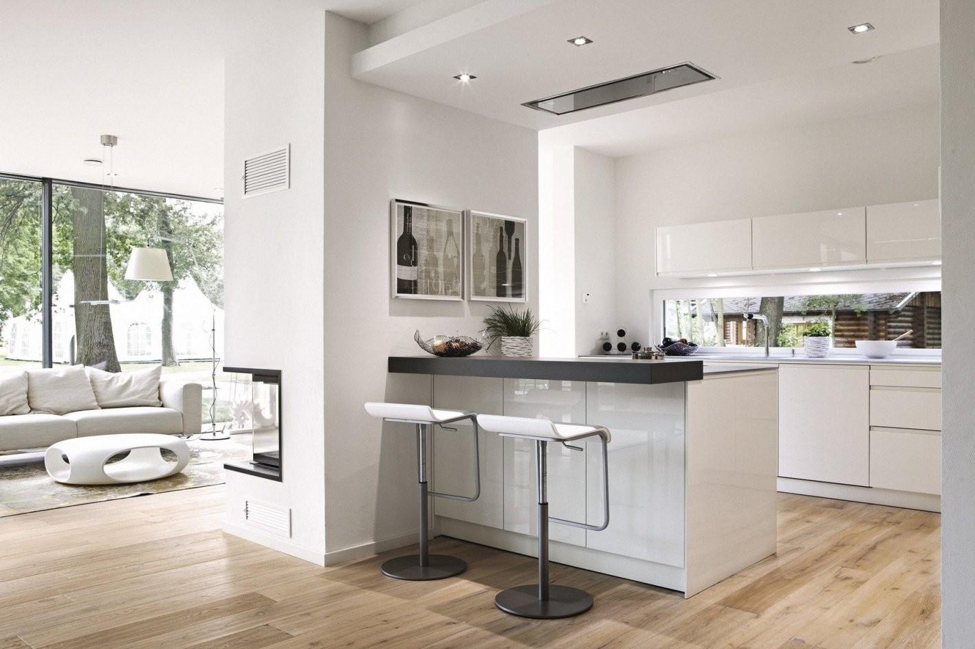 Offene Küche  Wohnideen  Offene Küche Wohnzimmer Haus Küchen Und von Moderne Wohnzimmer Mit Offener Küche Bild