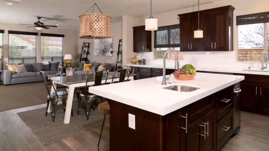 Offene Küche Wohnzimmer  Youtube von Wohnzimmer Mit Offener Küche Einrichten Bild