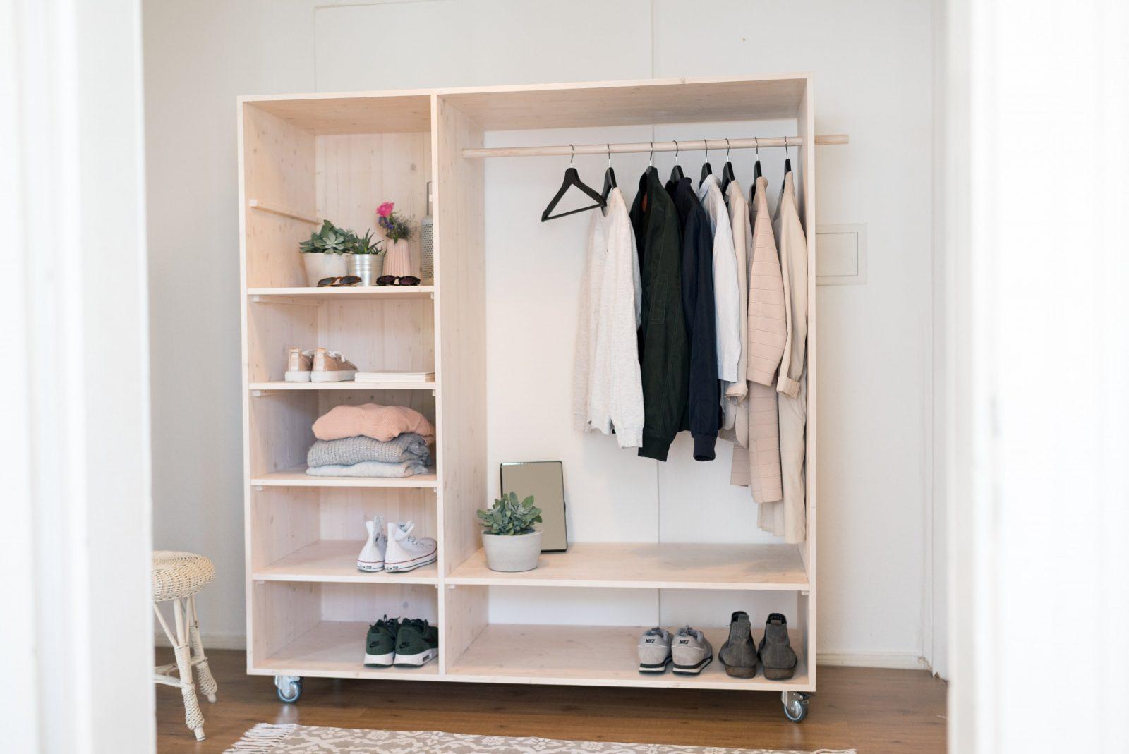 Offenen Schrank Selber Bauen – Tipps Zur Planung  Obi von Offenen Kleiderschrank Selber Bauen Bild