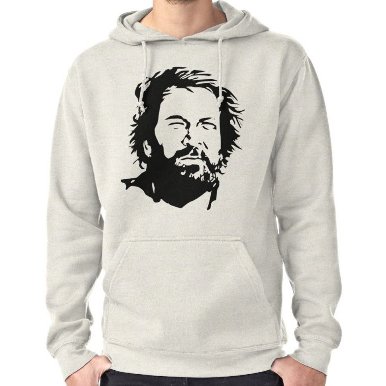 Old Time Bud  Pullover Hoodie  Products  Spencer Shirts Hoodies von Bud Spencer Mücke 63 Bild