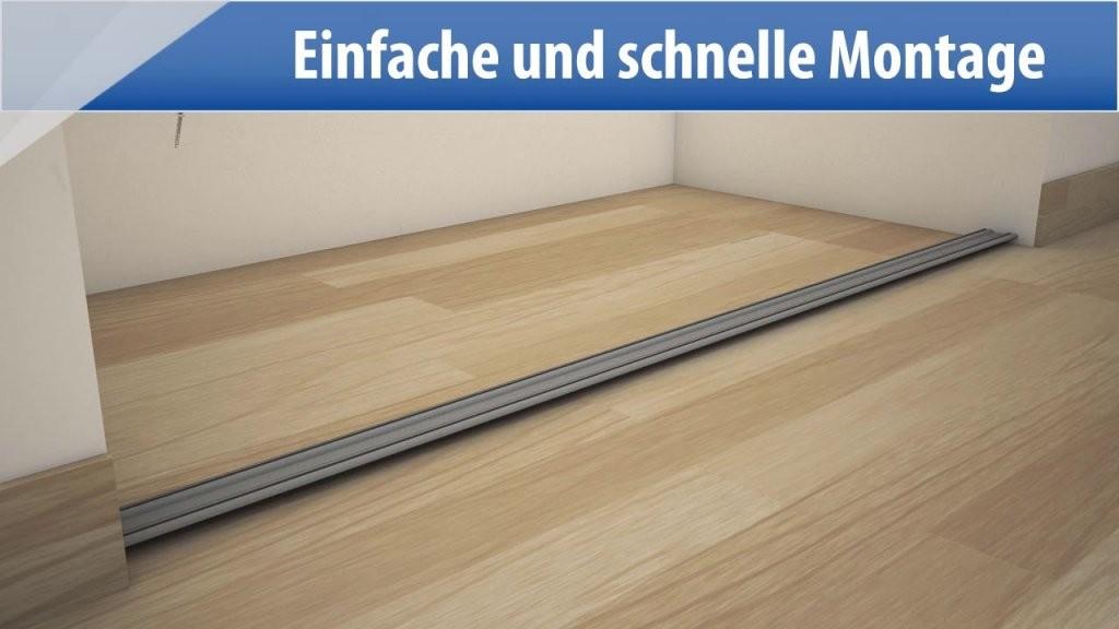 Optimum Schiebtüren  Bauhaus  Youtube von Kleiderschrank Schiebetüren Selber Bauen Photo