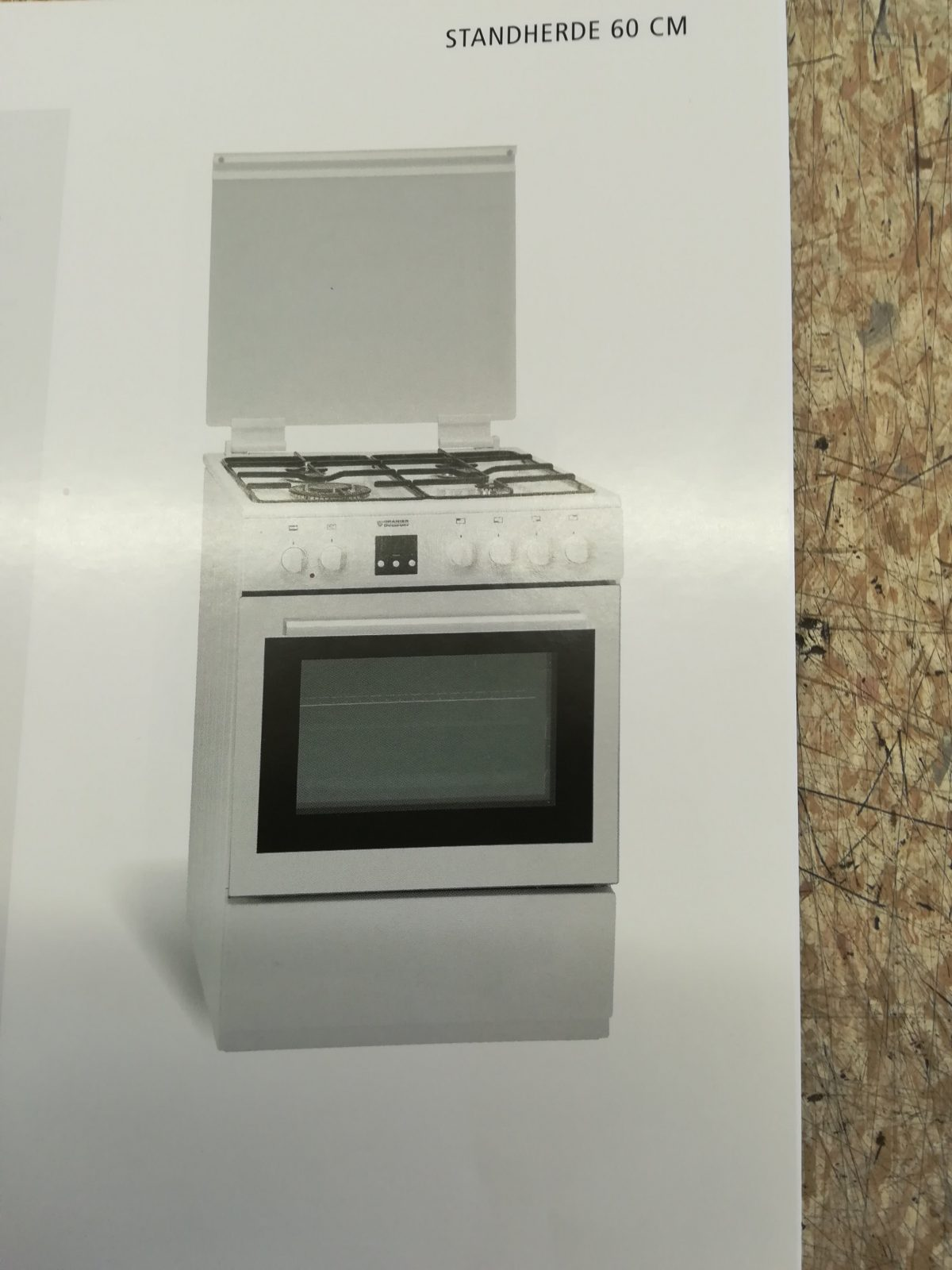 Oranier Gas  Elektroherd 50Cm Breit  Rubinig Installationen von Elektroherd 50 Cm Breit Bild