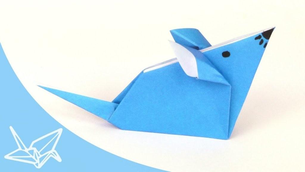 Origami Maus  Faltanleitung  Youtube von Maus Aus Geldschein Falten Photo