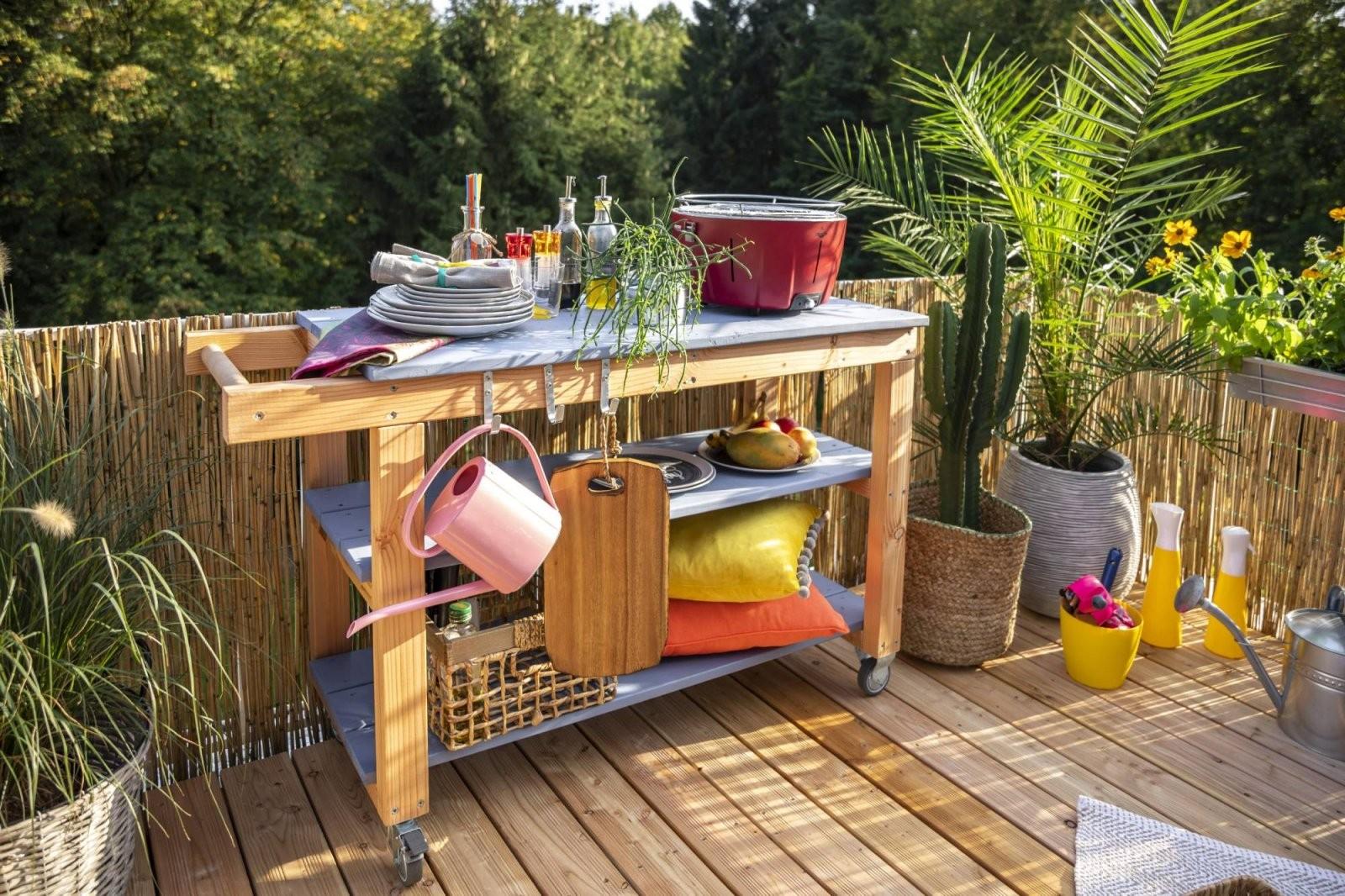 Outdoorküche Aus Holz Bauen – Tipps Zur Planung  Obi von Outdoor Küche Selber Bauen Garten Photo