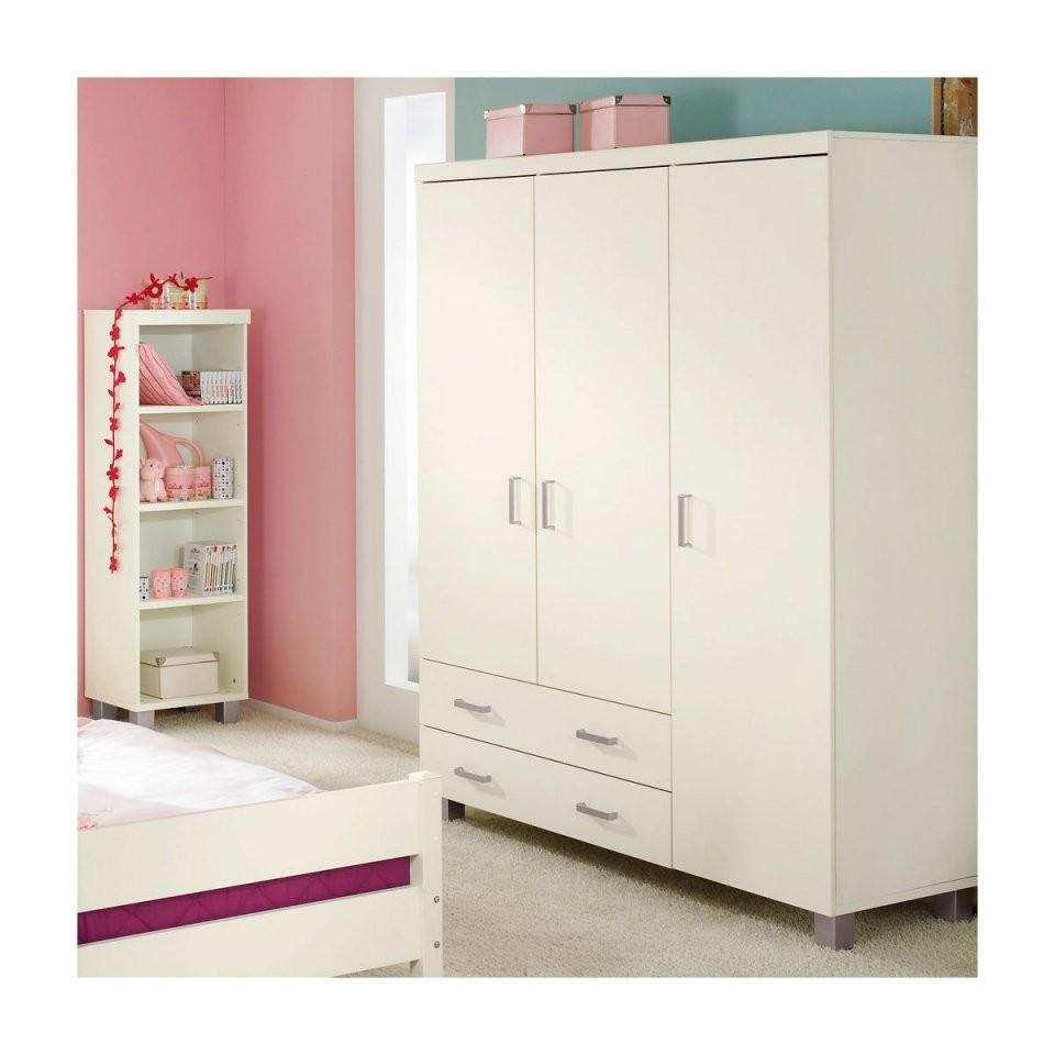 Paidi Biancomo Kleiderschrank 3Türig 4 Farben von Paidi Fiona Kleiderschrank 3 Türig Bild
