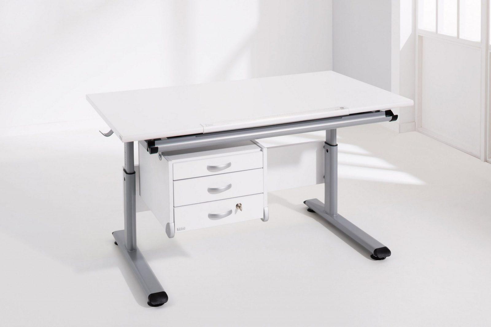 Paidi Schreibtisch Weiß  Marco 2 Gt Platte Neigbar  Möbel Letz von Schreibtisch Marco 2 Gt Bild