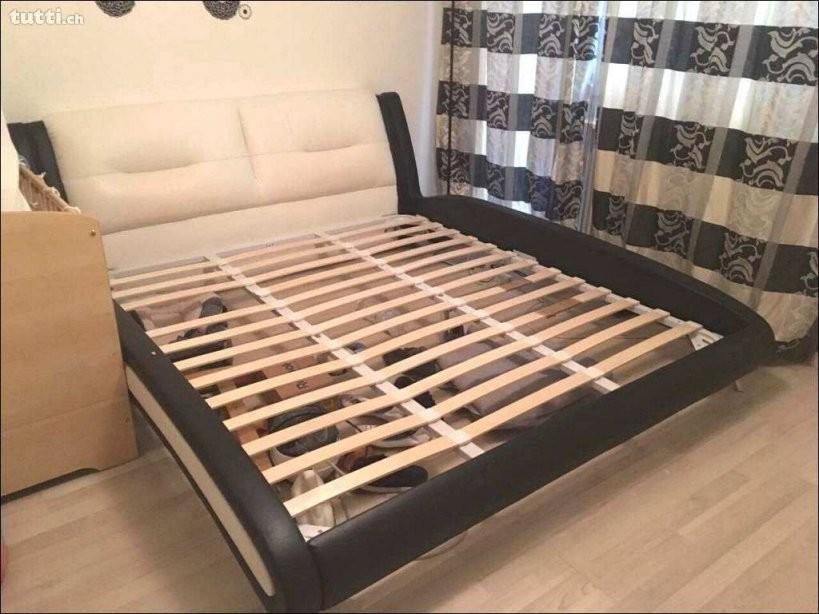 Palettenbett 140X200 Selber Bauen Fotos Bett Mit Matratze Und Bett von Lattenrost 140X200 Selber Bauen Photo