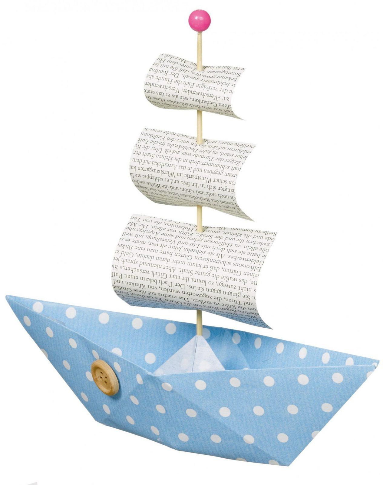 Papierboote Basteln Für Kindergeburtstag  Diyanleitung Via von Boote Basteln Mit Kindern Photo
